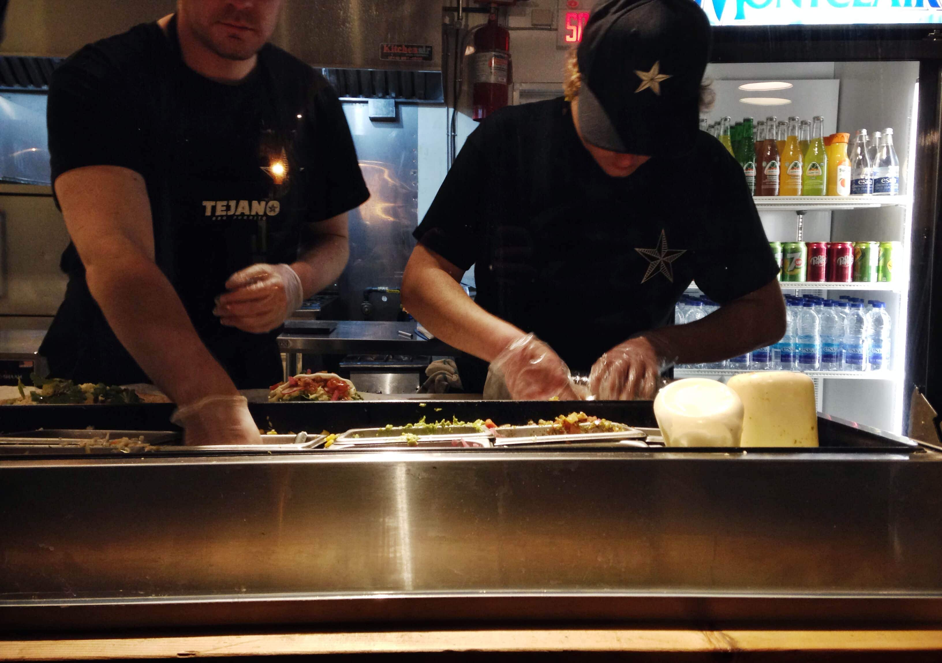 Tejano BBQ Burrito Old montreal restaurant