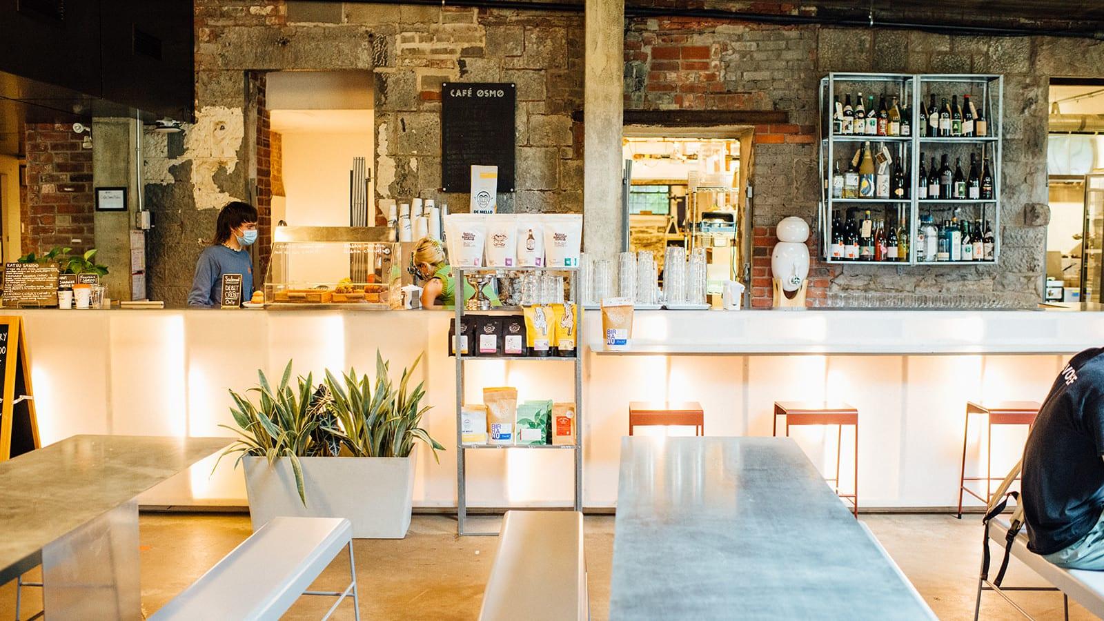 Osmo X Marusan les plus beaux cafés de Montréal