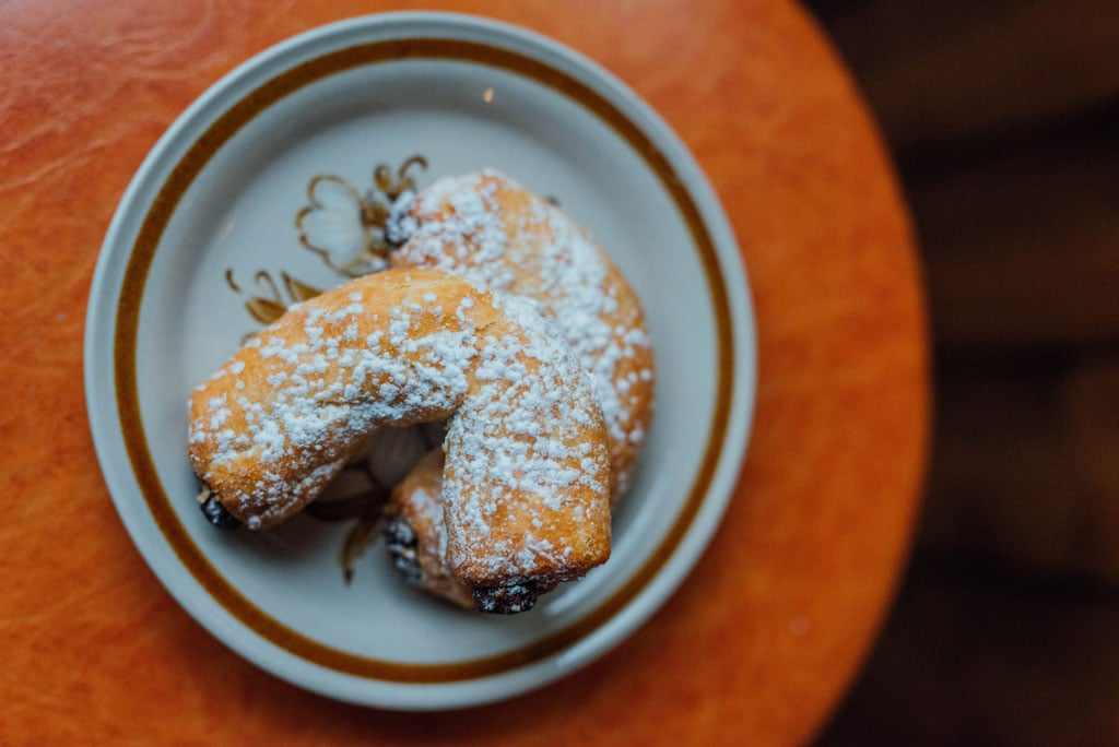 Pastries at Cafe ferlucci