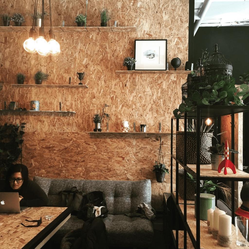 Café Gab : travailleurs autonome 2.0 Boulevard St-Laurent Montréal
