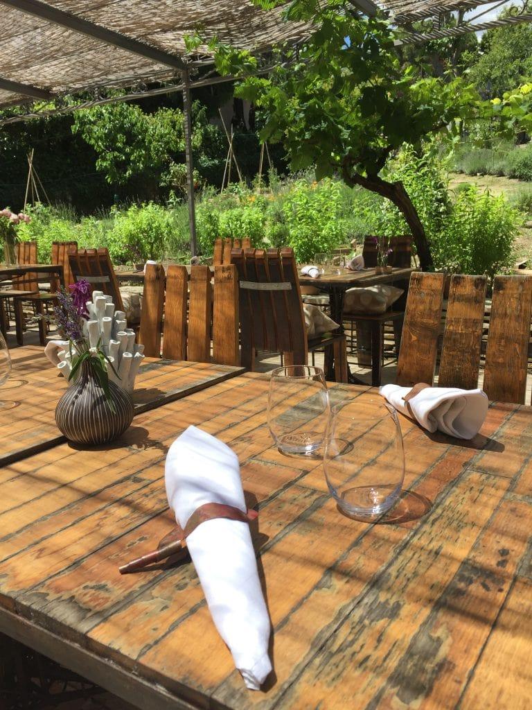 Restaurant Les Bacchanales : Très belle table à Vence