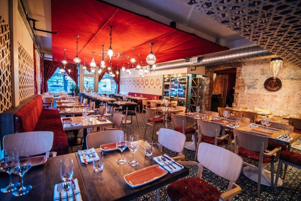 Restaurant damas la syrie l gante et savoureuse de van for Restaurant la cuisine dax