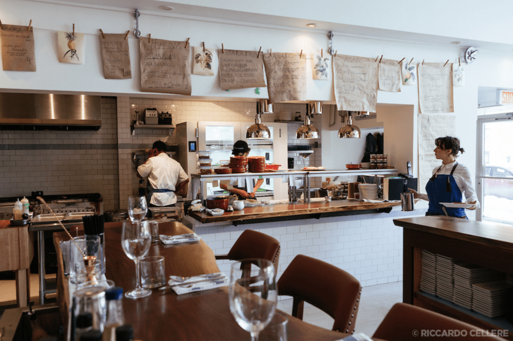 Restaurant Lavanderia : l'Argentine chic de Westmount