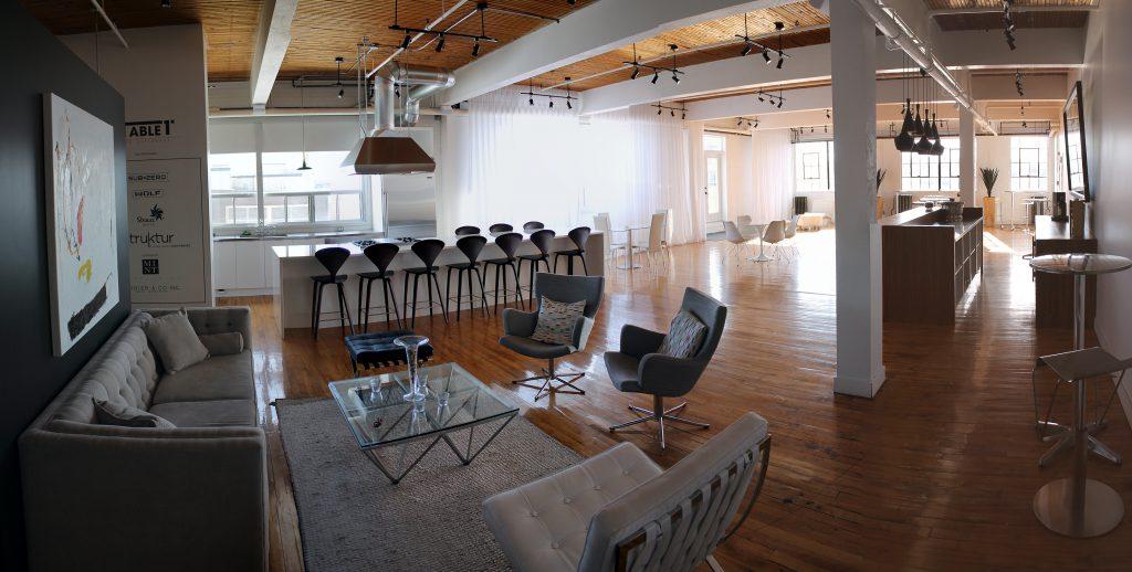 Table 1 : splendide espace d'événements privés dans le Mile-Ex