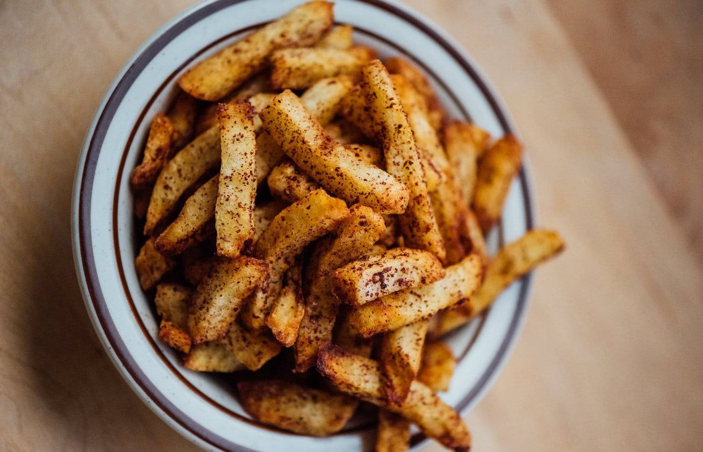 frites du restaurant Sumac