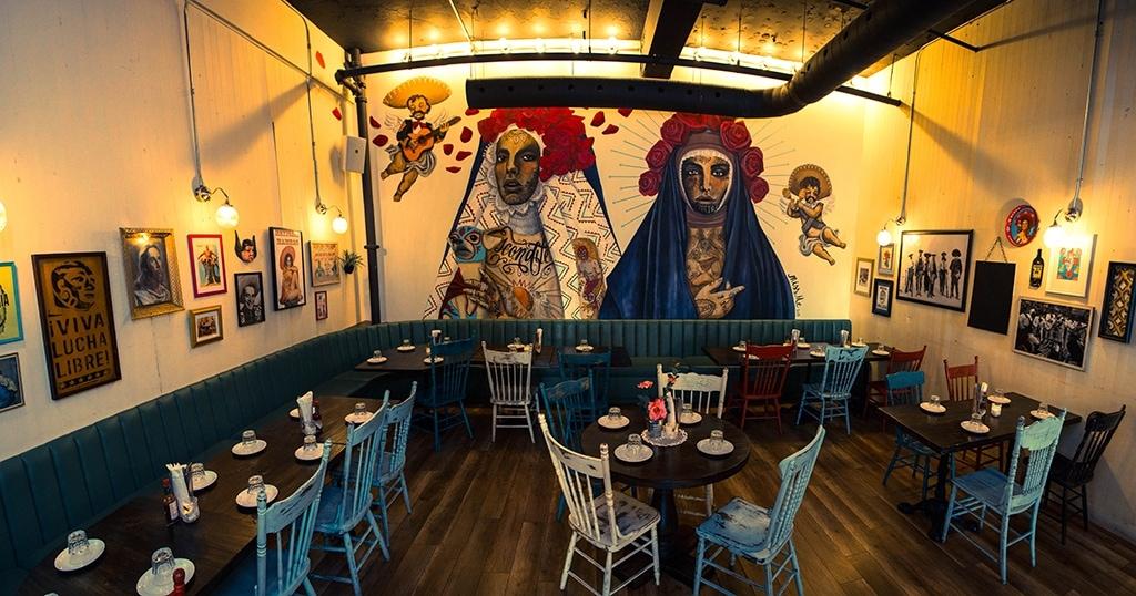 Restaurant Escondite Manger Mexicain En Plein Centre Ville