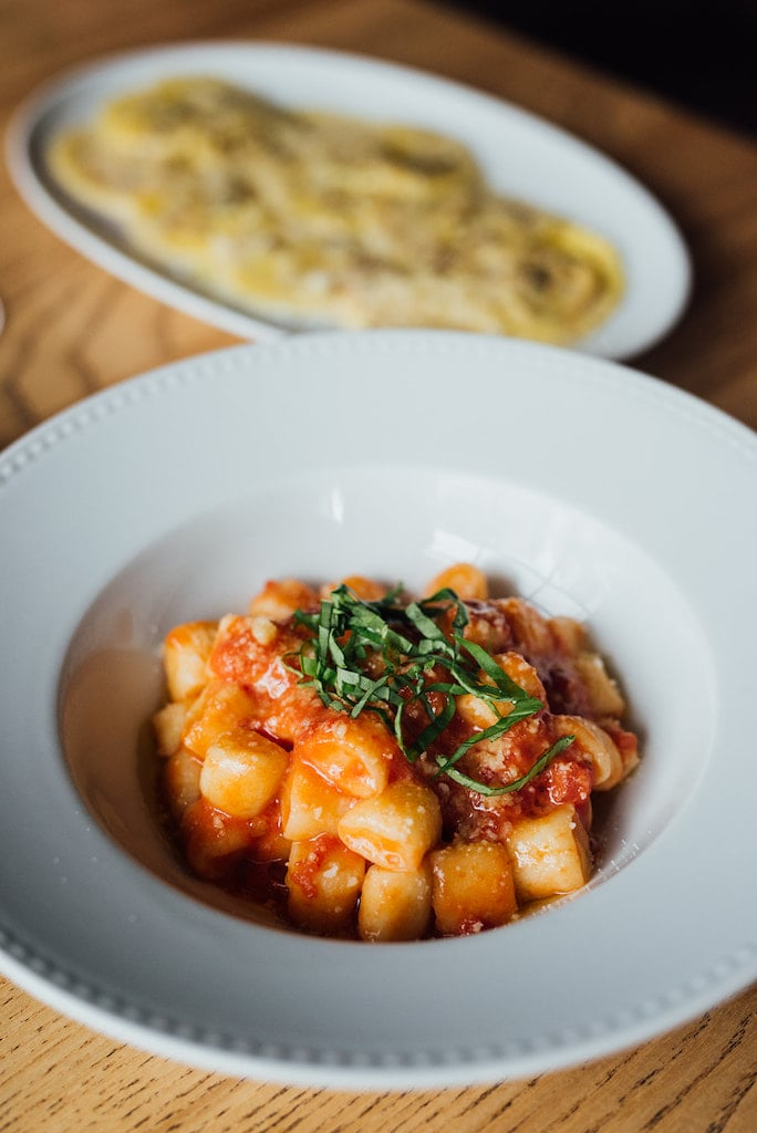 Dishes at Luciano Trattoria