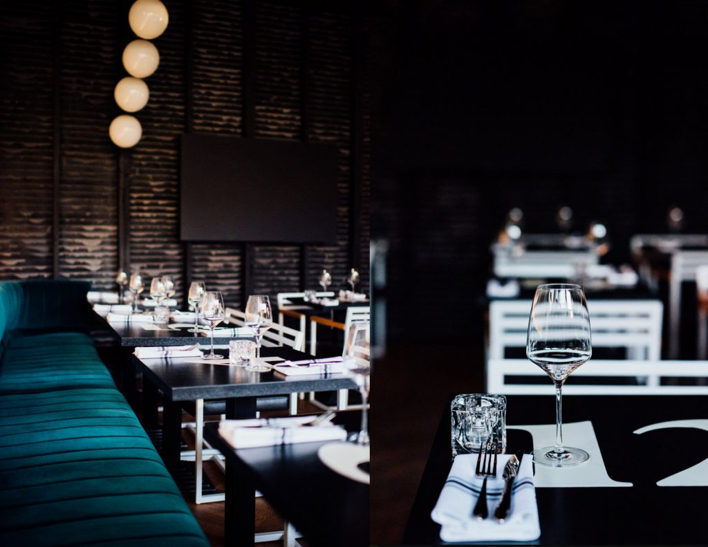 Bird bar : nouveau superbe resto de poulet frit et champagne dans Griffintown