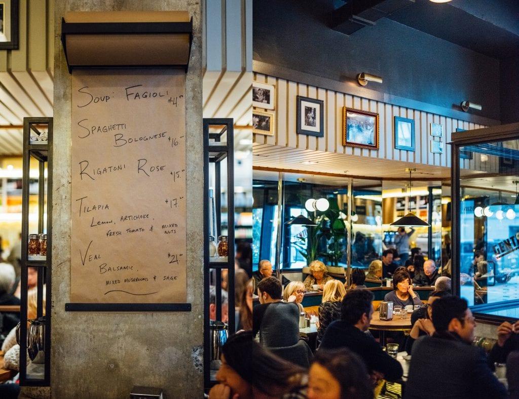 Café Gentile Westmount : hommage au passé tout en finesse