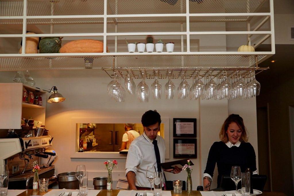 Restaurant Prince : un apportez votre vin haut de gamme rue Rachel