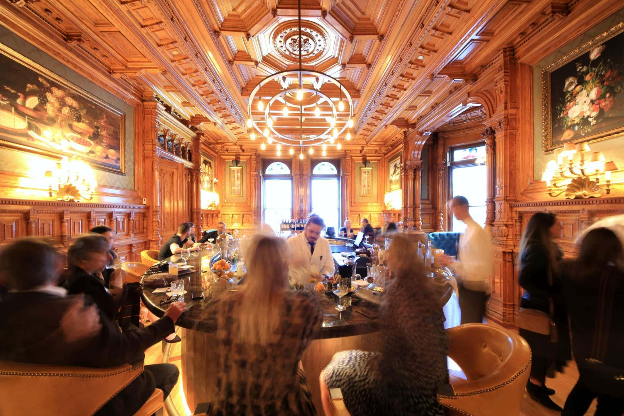 bar George downtown Montréal chic hôtel restaurant Drummond