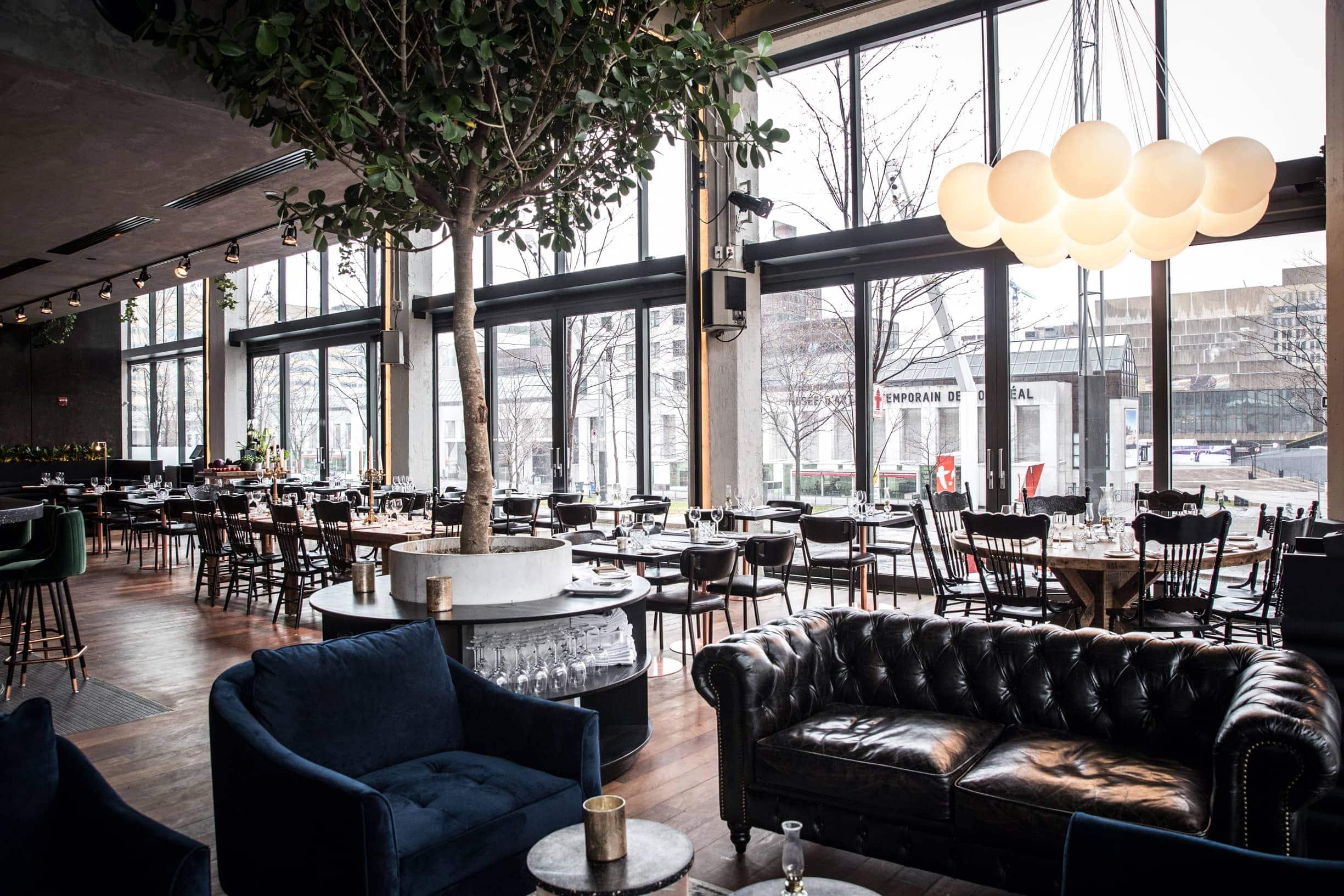 Le Blumenthal Restaurant Quartier des Spectacles Montréal