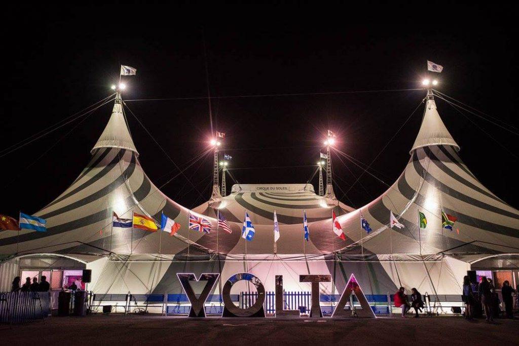 Le spectacle Volta du Cirque du Soleil et l'expérience VIP