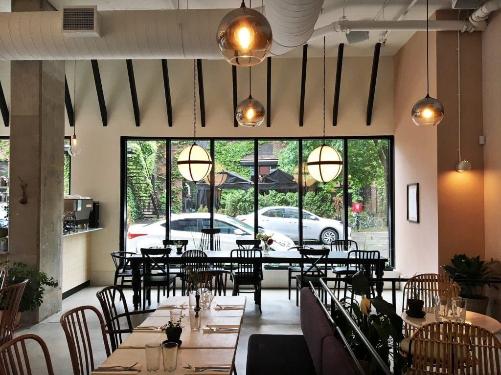 Restaurant Mélisse : la superbe nouvelle adresse du Vieux-Montréal