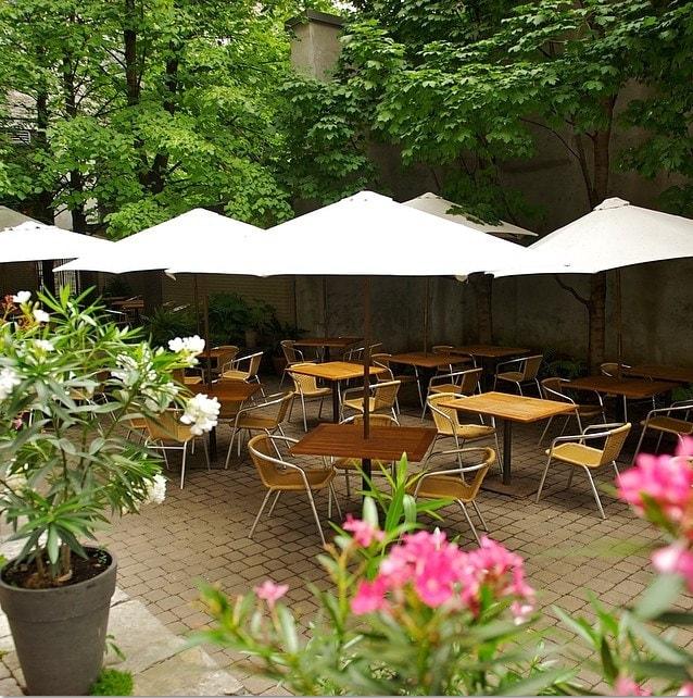 Plus Belles Terrasses de restaurants de Montréal Boris Bistro