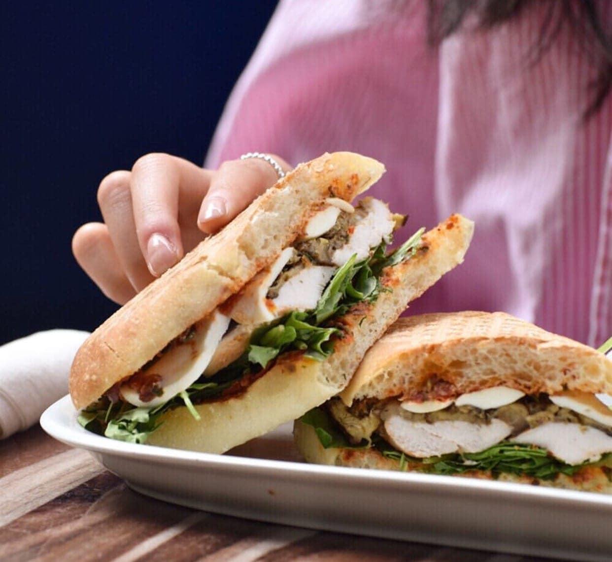 cafe vasco de gama sandwich