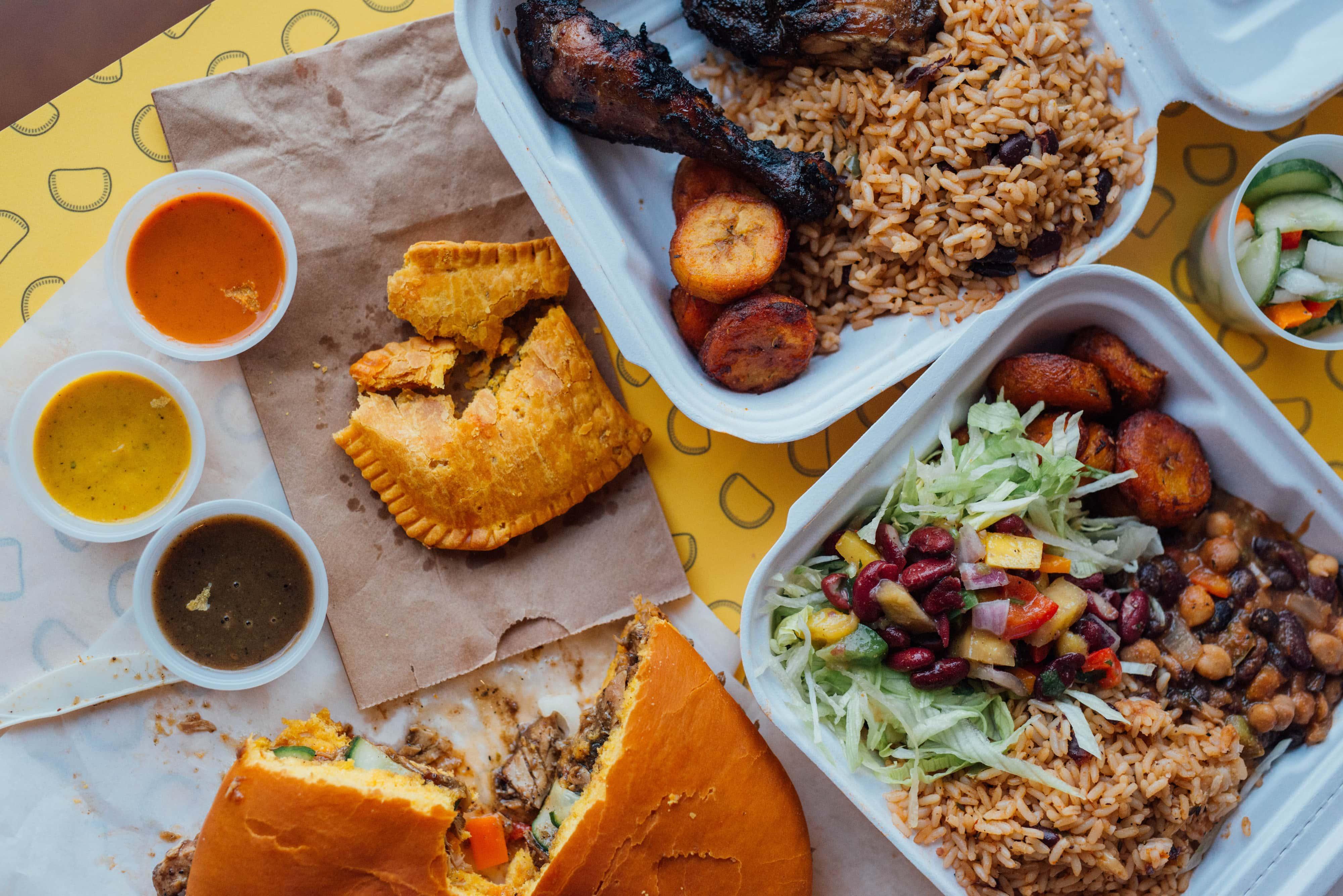 Lloydie's caribeenne cuisine mile end montreal
