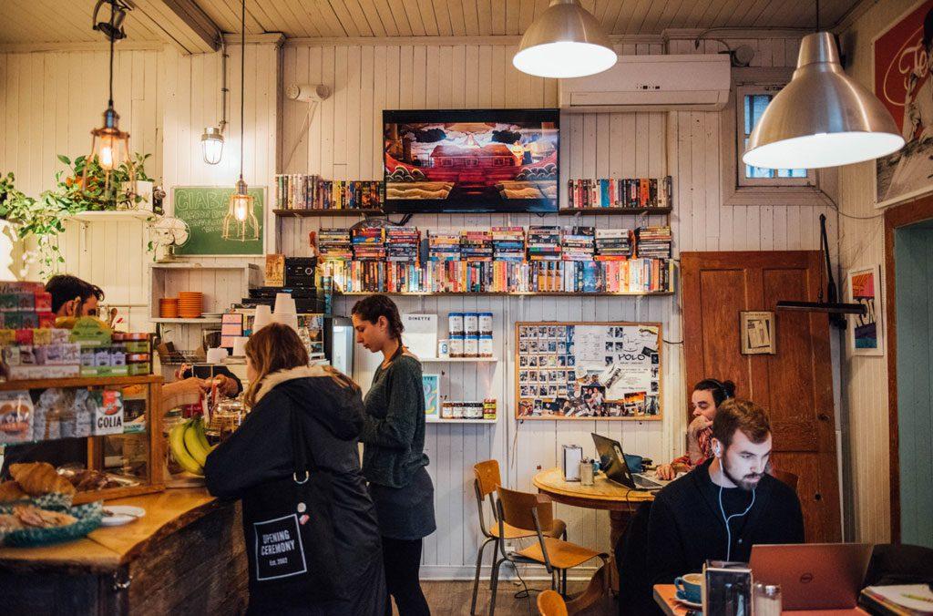 Café Ferlucci : adorable café italien dans Villeray