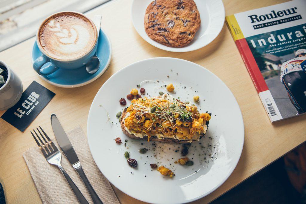 Le Club Espresso Bar : charmant café pour les amateurs de vélo montreal st-denis