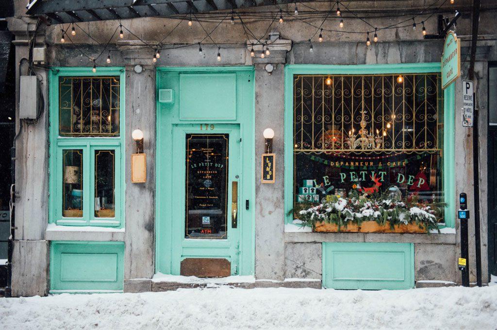 Le Petit Dep: dépanneur haute gamme dans le Vieux-Montréal