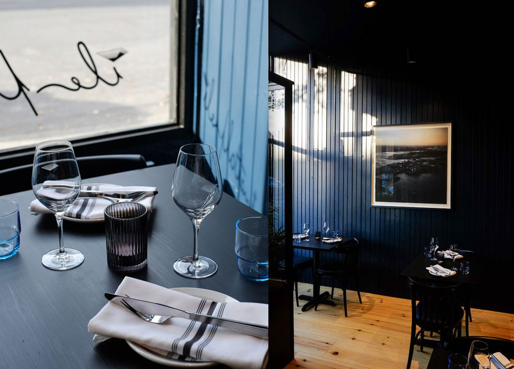 Restaurant Île flottante deux singes de montarvie menus de dégustation montreal St-Viateur mile end