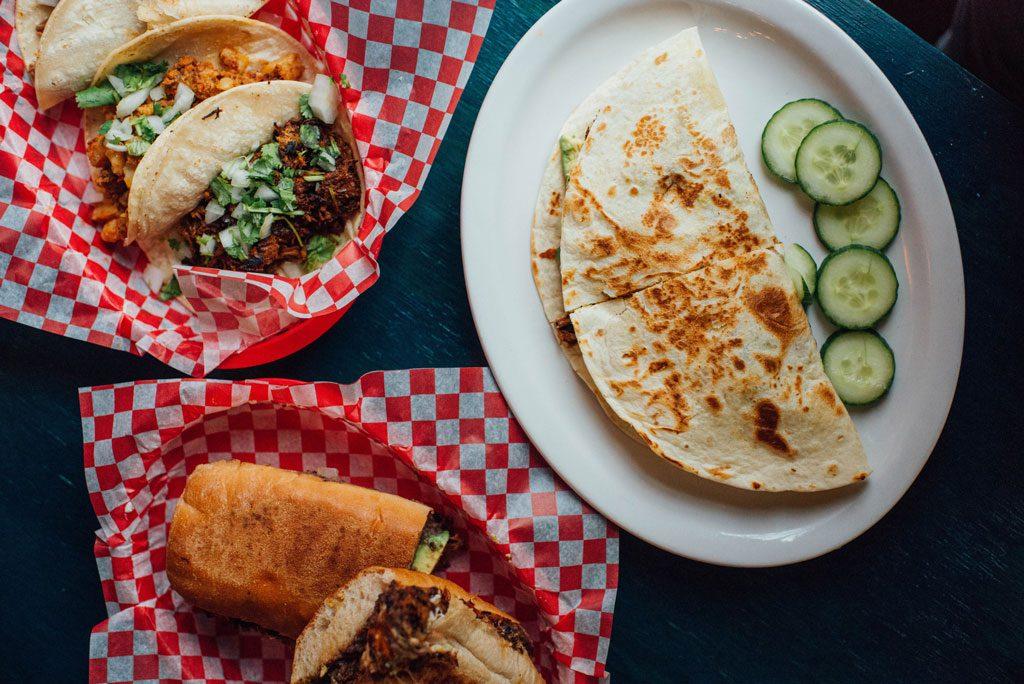 Ta Chido Snack-bar mexicain: très bons plats mexicains dans le Mile-End