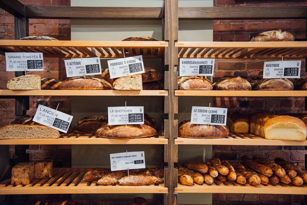 La Meunerie Urbaine : charmante boulangerie de Notre-Dame Ouest