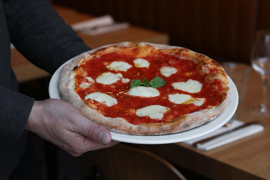 Food at Pizzeria Heirloom