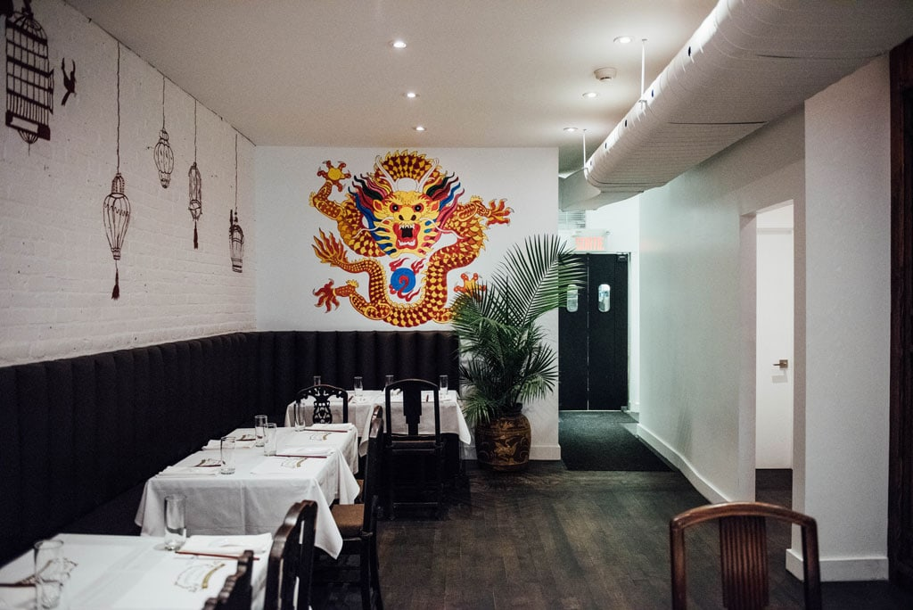 Chinoiseries et dumplings cantine montreal downtown