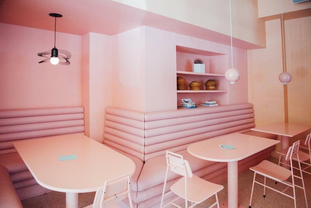 Pastel Rita Pink Interior