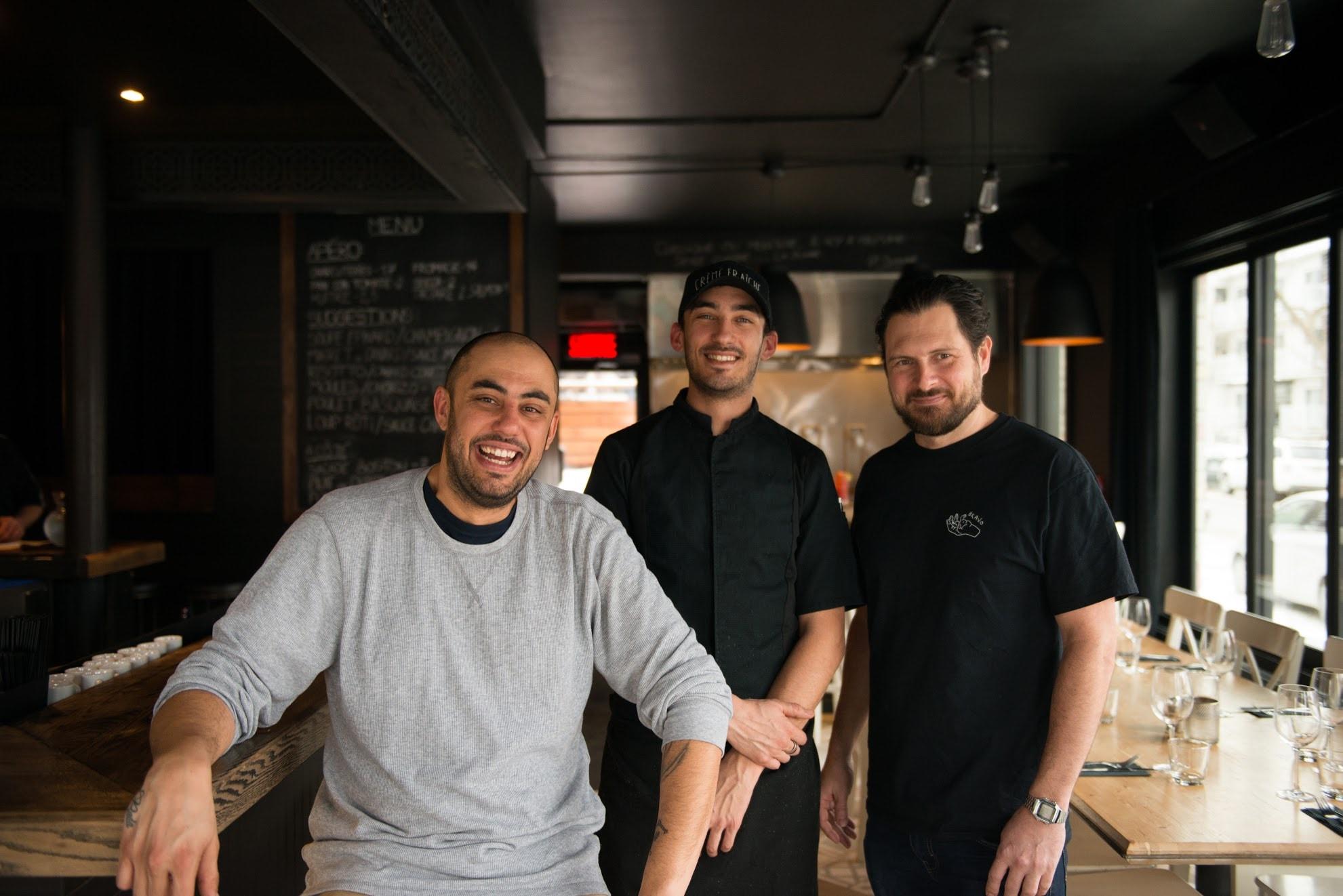 Creme Fraiche restaurant Montreal