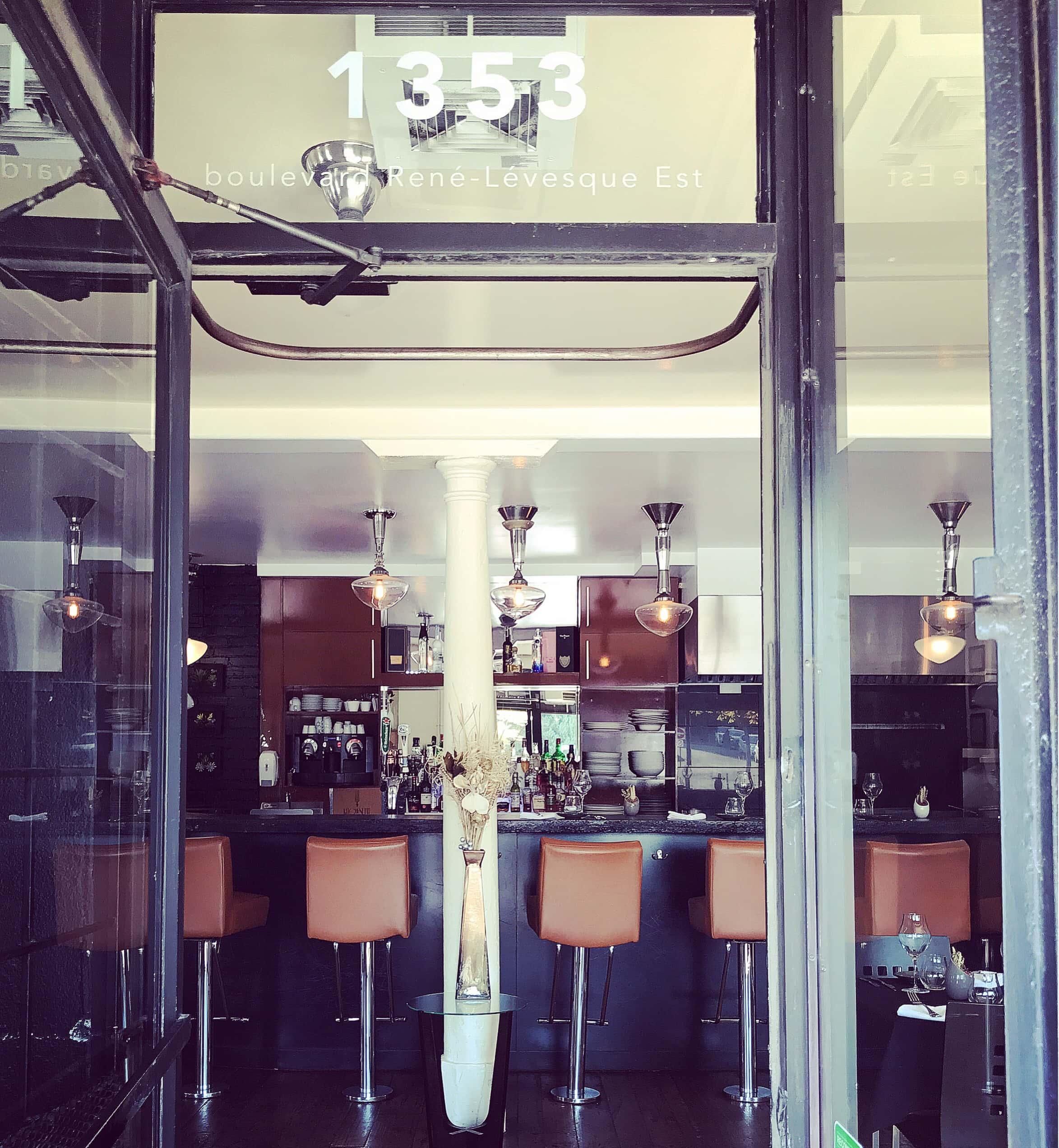 kitchenette bistro gastro restaurant montreal