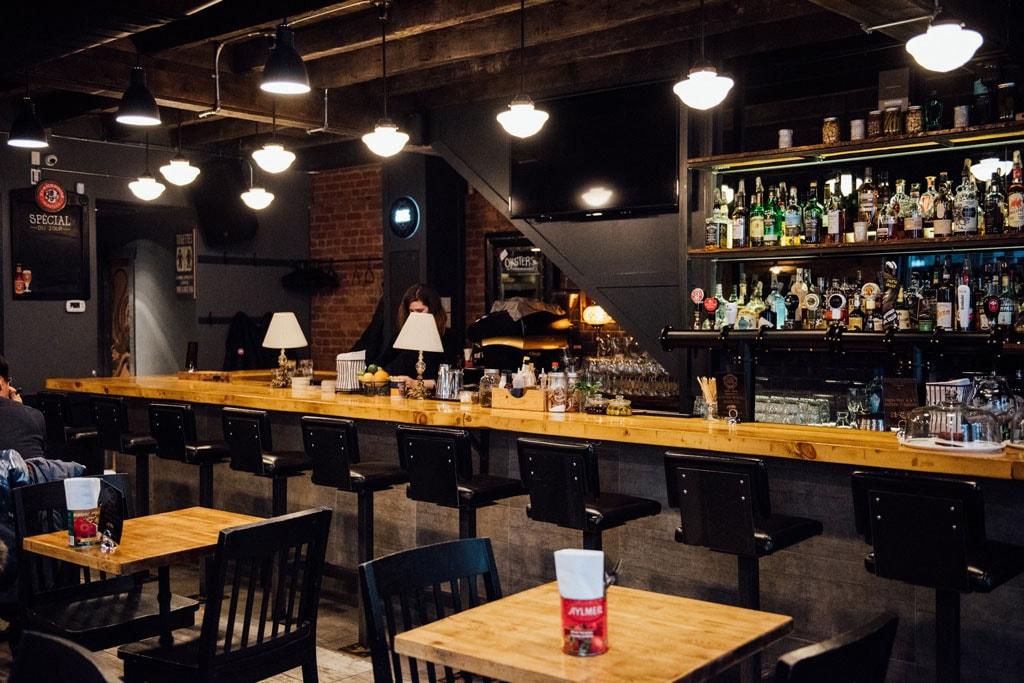 Pub St-Pierre bar vieux montreal old port