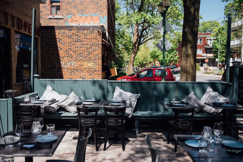 Alma Outremont Bar a vin restaurant Montreal