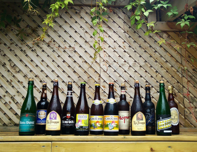 Le Bistro des bières belges saint hubert
