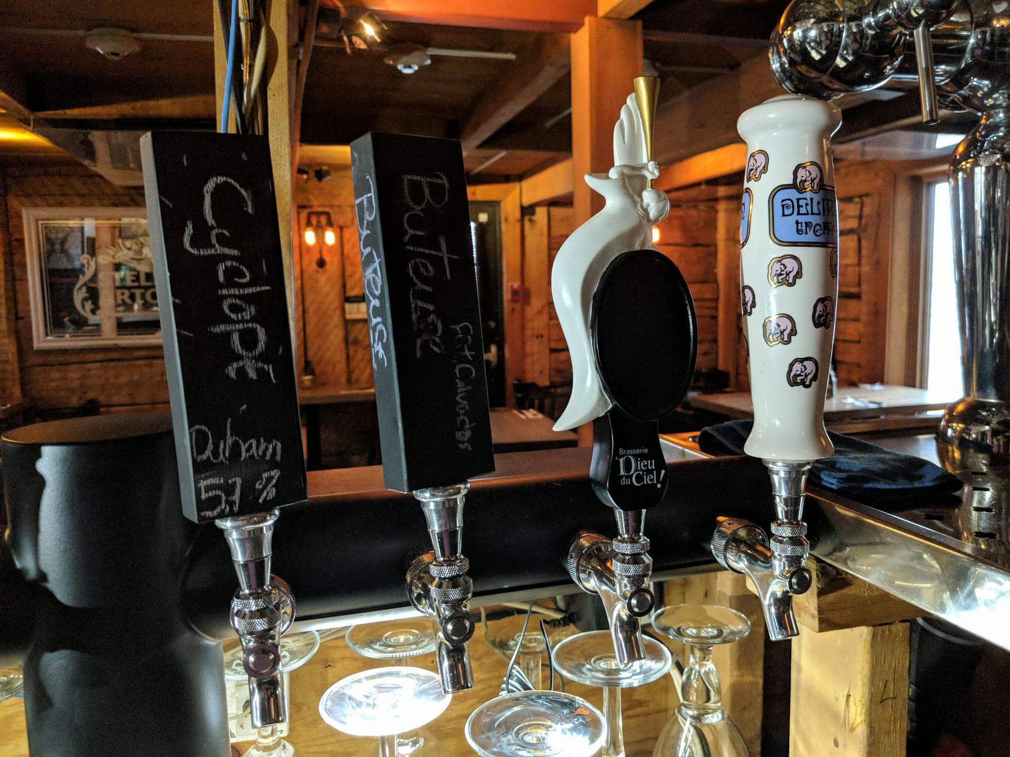 Le Bistro des bières belges st hubert