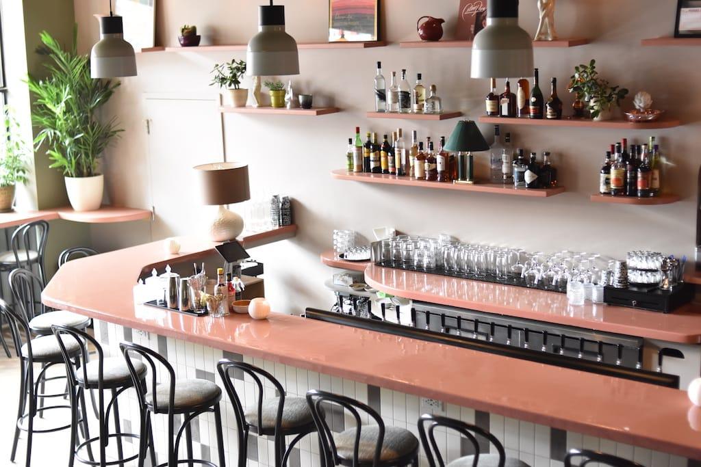 Bar Pamplemousse Quartier des Spectacles Montréal