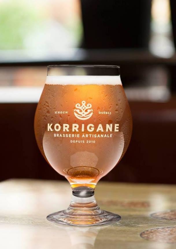 Brasserie La Korrigane Quebec st-roch