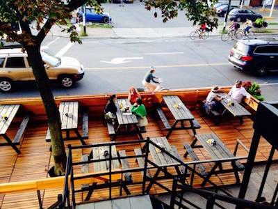 kabinet bar belles terrasses montreal