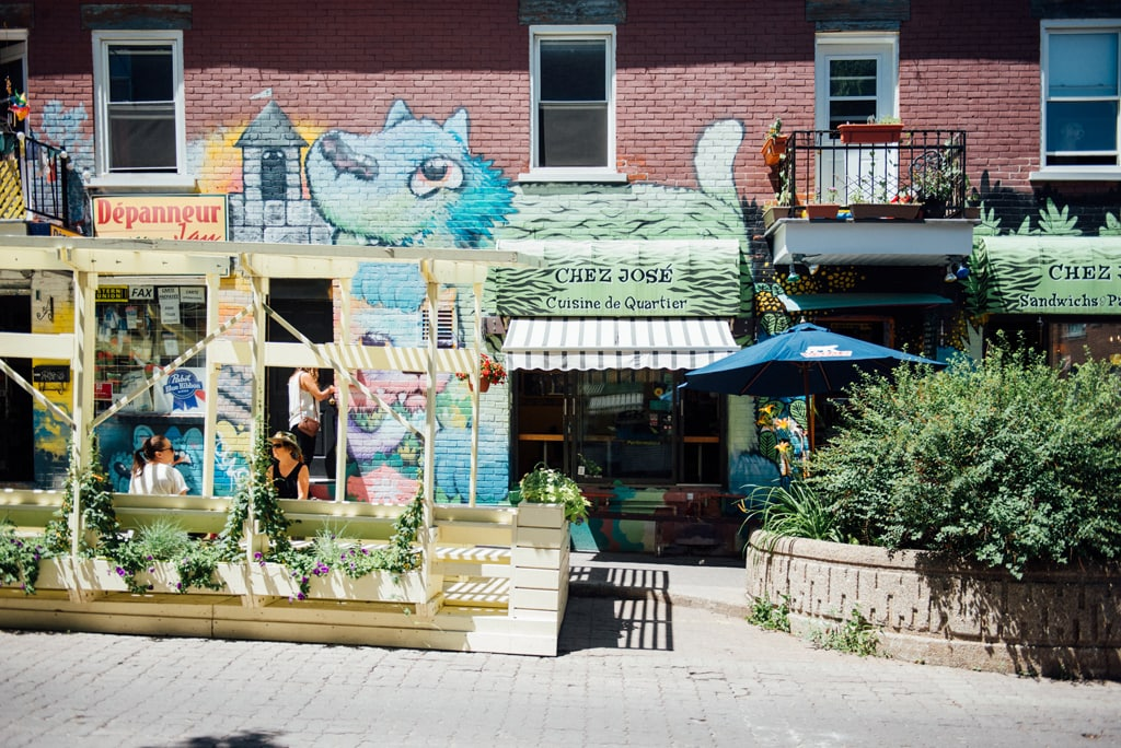 Restaurant Chez José Montréal