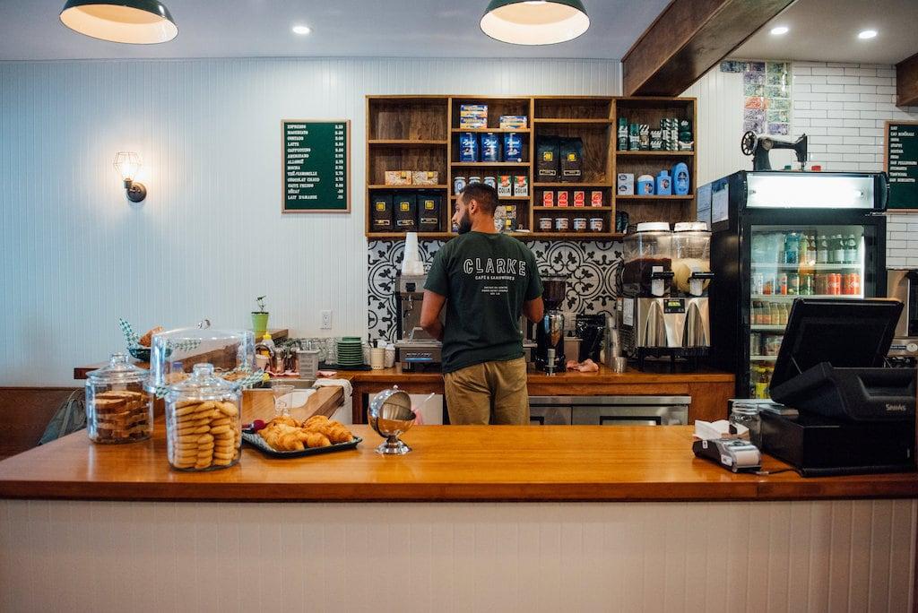 Clarke Café pointe-saint-charles montreal