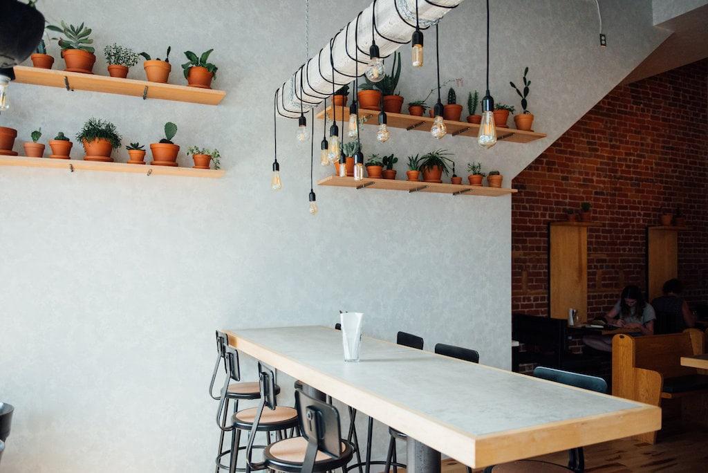 Café Banc public restaurant parc montreal