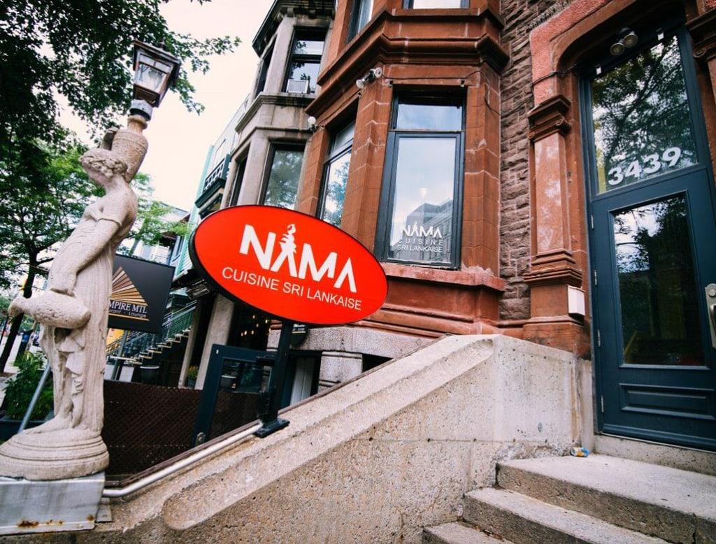 Nama Restaurant Sri Lanka Montréal