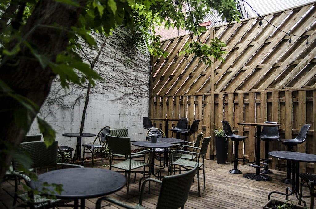 Radicelle Plateau Mont Royal Boulevard Saint Laurent restaurant Montréal