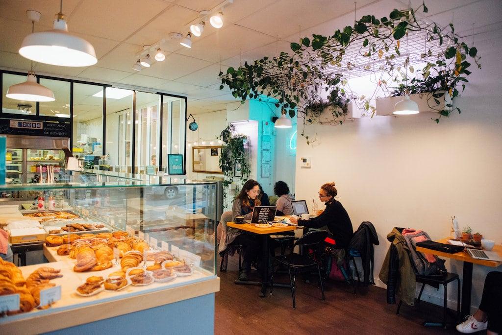 croissant croissant cafe plateau pastries mont royal est