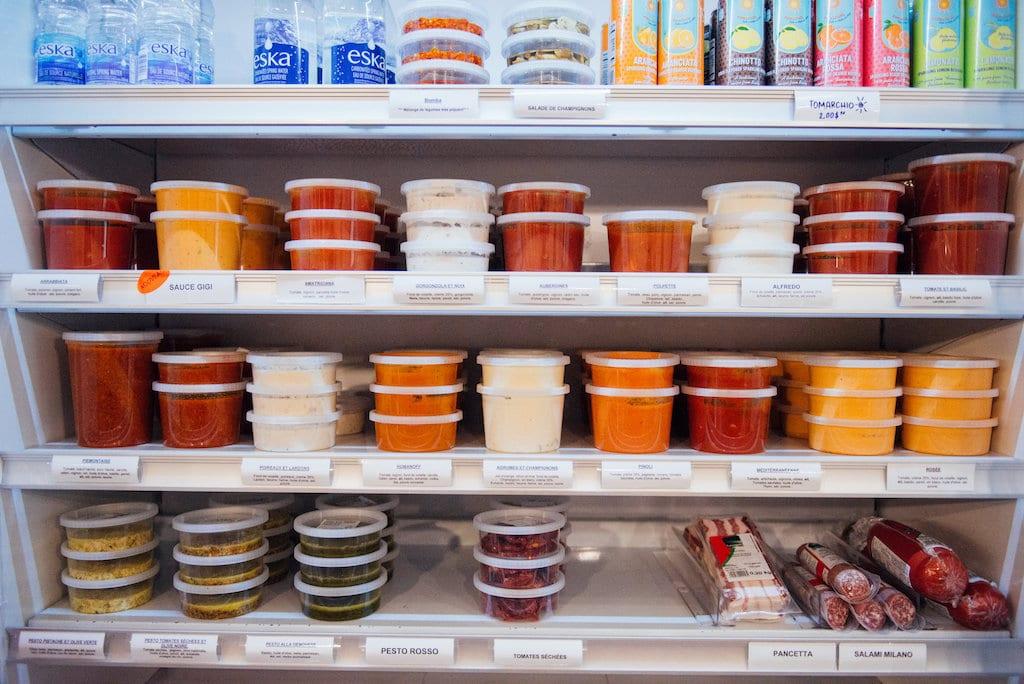 histoire de pâtes comptoir fresh pasta counter saint lambert