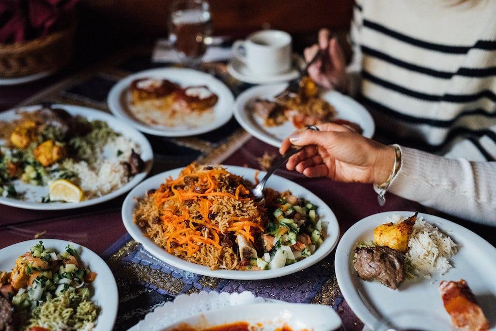 khyber pass BYOB afghan restaurant AVV afghan rue Duluth street plateau Mont Royal