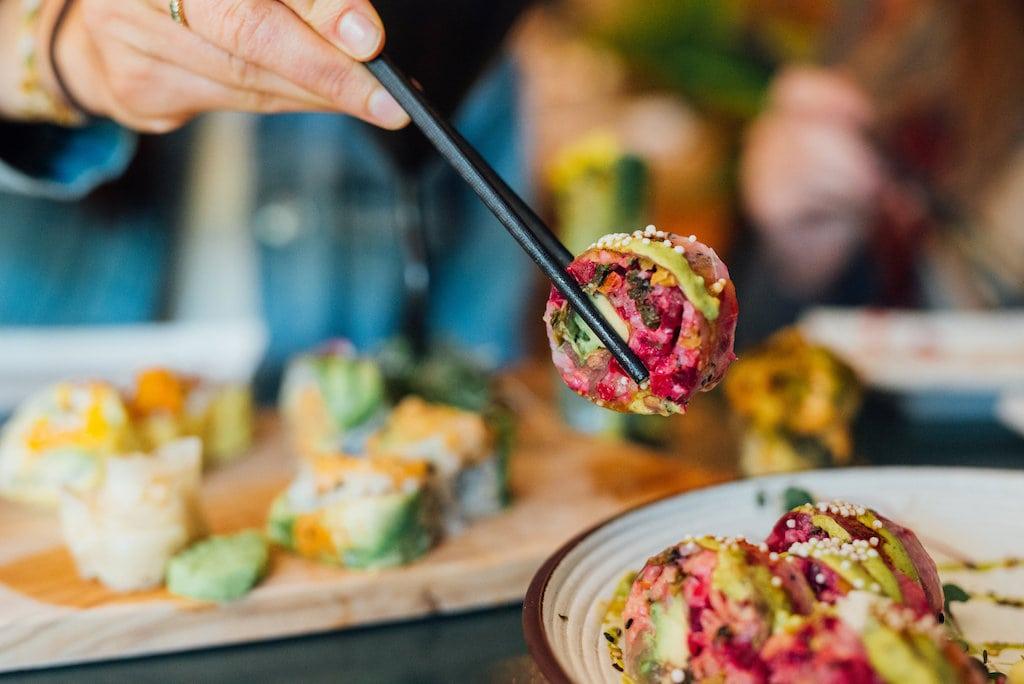 momo sushi meilleur restaurant vegan best vegan restaurant Montreal st-denis