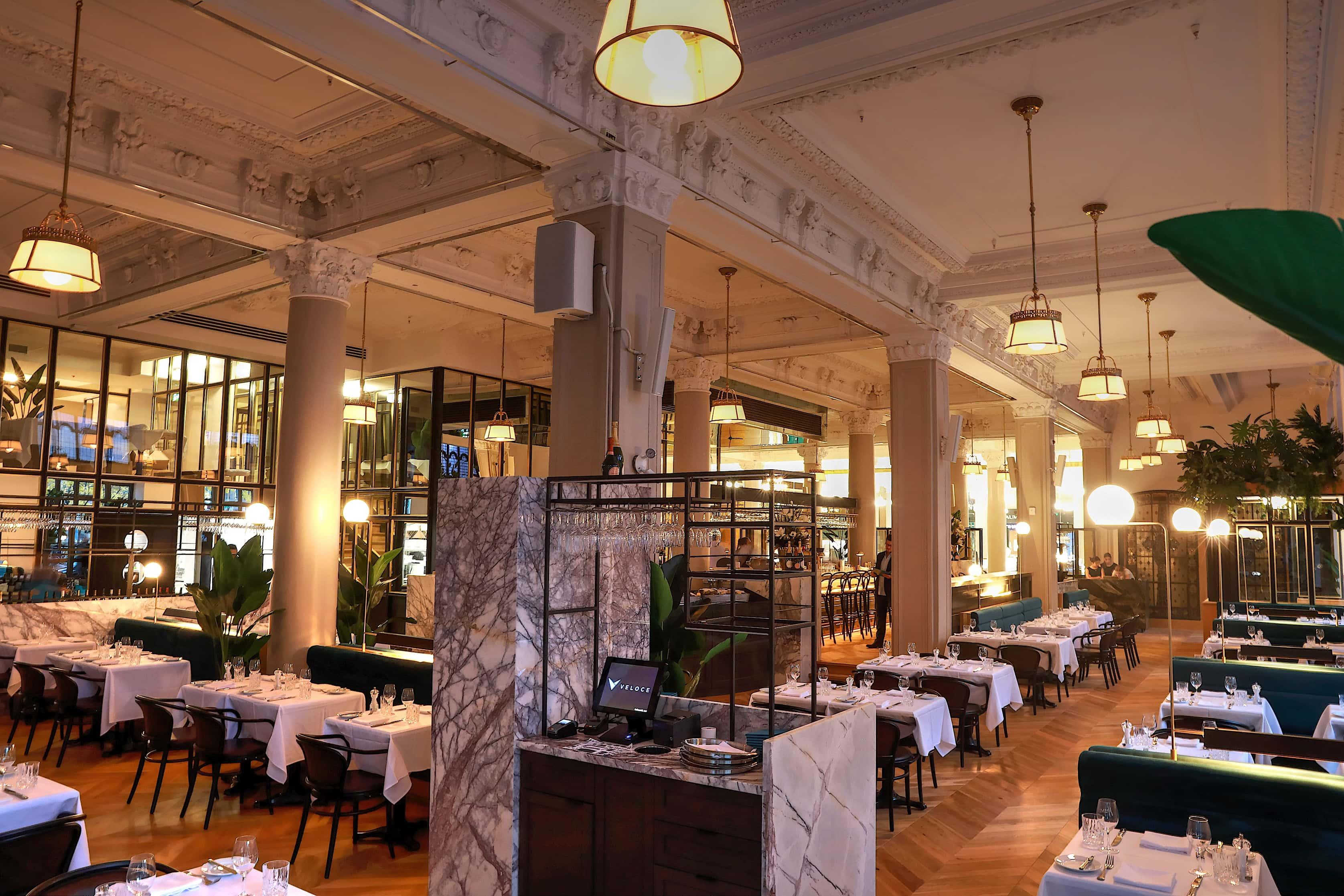 Henri restaurant brasserie française