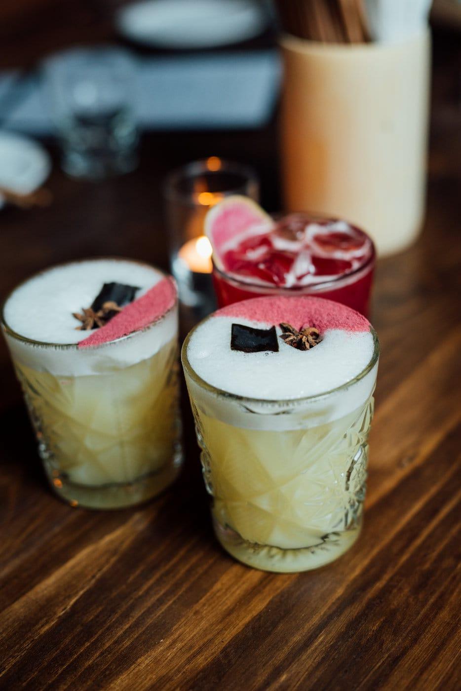 Cocktail at Hanzō